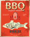 Metal sign dad s bbq grunge effects can be easily removed vintage Royalty Free Stock Photography