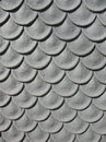 Metal that simulates the fish scales Royalty Free Stock Photo