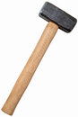 Metal sledge hammer Stock Photography