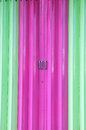 Metal sliding doors Royalty Free Stock Image