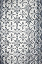 Metal Snowflake Christmas Background Stock Image