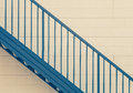 Metal stair Royalty Free Stock Photo