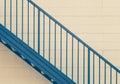 Metal stair Royalty Free Stock Photo