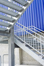 Metal staircase Royalty Free Stock Photo