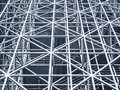 Metal steel Structure Modern building Royalty Free Stock Photo