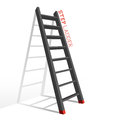 Metal Step Ladder Vector Royalty Free Stock Images