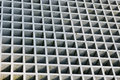 Metal structure close up squared shaped Stock Photography