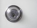 Metal style key hole Royalty Free Stock Photo