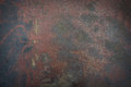 Metal surface with rust texture as background Royalty Free Stock Photo