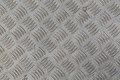 Metal texture old corrugated aluminum sheet Royalty Free Stock Photo