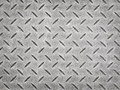 Metal texture rusted diamond plate steel Stock Image