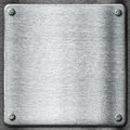Metal texture template background. Steel plate.