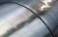 Metal tube texture Stock Photo