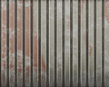 Metal wall Royalty Free Stock Photos