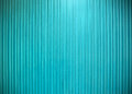 Metal wall vertical line texture ligth blue color. Royalty Free Stock Photo