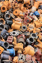 Metal Waste Stock Images
