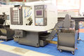Metal-working machine Royalty Free Stock Photo