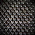 Metalic balls background Royalty Free Stock Photo