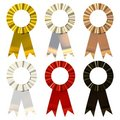 Metalic Ribbons Stock Image