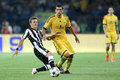 Metalist contre le paok Image stock