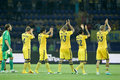 Metalist contre le paok Photographie stock