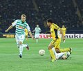Metalist kharkiv vs rapid wien football match ua october fw taison r in action during uefa europa league group stage Stock Image
