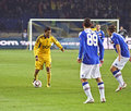 Metalist Kharkiv vs. Sampdoria Genoa Stock Photo
