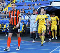 Metalist Kharkiv vs Shakhtar football match Royalty Free Stock Photography
