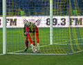 Metalist Kharkiv vs Volyn Lutsk football match Royalty Free Stock Photos
