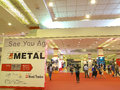 Metallex asia i bangkok Royaltyfria Bilder