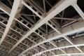 Metallic Architecture Of Ceiling