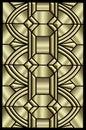 Metallic Art Deco Design
