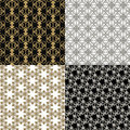 Metallic Background Set Royalty Free Stock Image