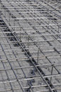 Metallic Bars from Concrete Stock Image