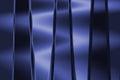 Metallic blue background