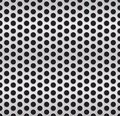 Metallic cell background vector pattern Stock Image