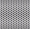 Metallic cell background version vector Royalty Free Stock Photos