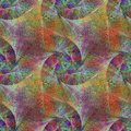 Metallic colorful seamless fractal background Royalty Free Stock Photo