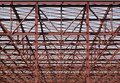 Metallic construction - RAW format Royalty Free Stock Images