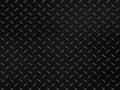 Metallic diamond plate background Royalty Free Stock Photo
