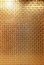 Metallic gold star