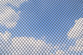 Metallic net Royalty Free Stock Photos
