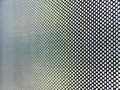 Metallic perforated surface Stock Photography