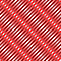 Metallic red waves seamless pattern Stock Photo