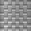 Metallic silver pattern made simple geometric structures will tile seamlessly Stock Photo