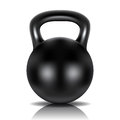 Metalu dumbbell Obrazy Royalty Free