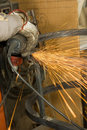 Metalworker Royalty Free Stock Photography