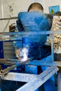 Metalworker Royalty Free Stock Photo