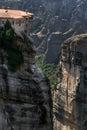 Meteorów monastery w trikala regionie w lecie grecja Zdjęcia Royalty Free