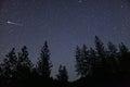 Meteor fireball Royalty Free Stock Photo